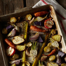 Roasted Veggies Diptych